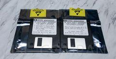 HP 54620 Logic Analyzer Software 54620-17504 54620-17505 PGMR'S Reference w/ Example Program Disks