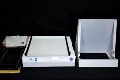 GE Healthcare FLA Image Eraser FUJI w/ Stand & Typhoon FLA IP Stage, NEW