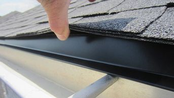 Drip edge on all edge eave will prevent the water from running down between the gutters and fascia
