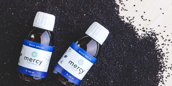 Mercy Organic Black Seed Oil on Black seeds