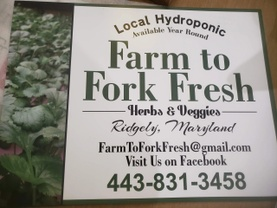 Farm To Fork Fresh Herbs & Veggies