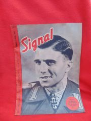 Original German Signal magazine 1st issue number 7 dated April 1943 complete nice condition