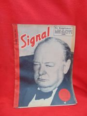 Original German Signal magazine 2nd issue number 8 dated April 1943 complete nice condition