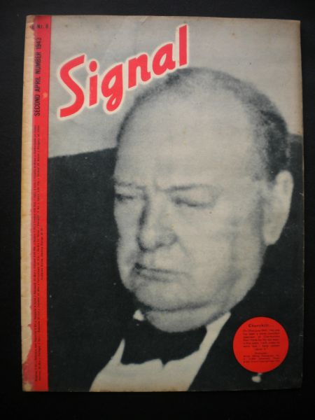 Original German Signal magazine rare to find English language issue number 8 dated April 1943 complete nice condition