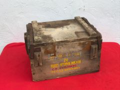 World War 2 Artillery,Infantry and weapons ammunition crates,boxes