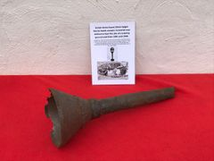 British Home Guard 29mm Spigot mortar bomb large distinctive shape section recovered near Ashford in Kent the site of a Home Guard training ground used from 1940-1944