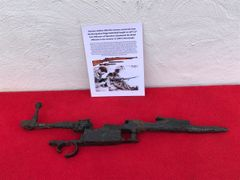 German soldiers K98 rifle remains recovered from the Bourguebus Ridge part of Operation Goodwood 18-21 July 1944 in Normandy