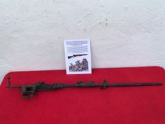 British soldiers Lee Enfield rifle recovered from the Bourguebus Ridge part of Operation Goodwood 18-21 July 1944 in Normandy