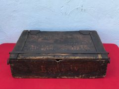 Rare Austro-Hungarian 3 shell ammuntion crate for the M1879 Artillery gun re stamped dated 1916,fantastic condition found in Poland from 1914-1916 campaign against Russia