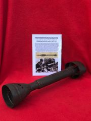 German panzerschreck anti-tank rocket launcher projectile near complete recovered from South of Berlin in the area the 9th Army fought,surrendered in April 1945 during the battle of Berlin