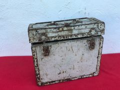 German wooden carry crate for blinkgerat signal lamp,semi relic condition found on the Somme battlefield 1916-1918