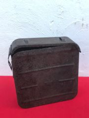 Russian maxim ammunition tin,nice condition relic recovered from the Seelow Heights 1945 battle of Berlin