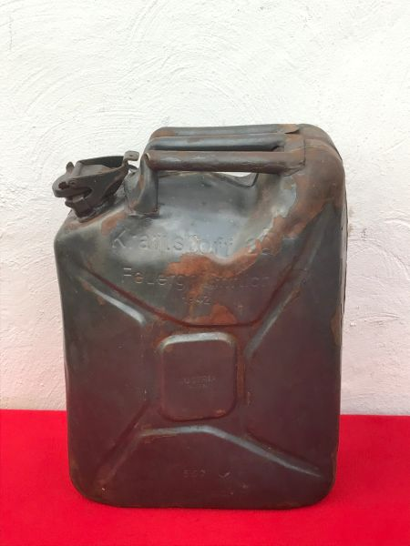 SOLD German fuel can Coutances in Normandy