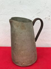 German Army Barracks Washing Pitcher or Jug,maker marked dated 1941 found on a brocante in the town of Coutances in Normandy 1944 summer battlefield