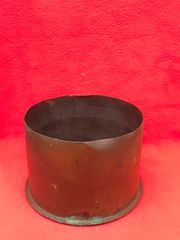 German 15cm schwere howitzer 15 cartridge case which is separated propelling charge,dated November 1914,nice condition found on the Somme battlefield 1916-1918