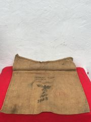German Army grain sack with waffen stamp,dated 1943,complete and nice condition from a local brocante in Bras a village just outside Bastogne from the Bulge battle 1944-1945