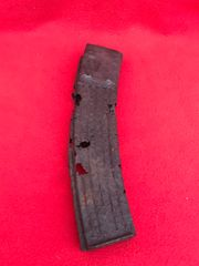German MP44 magazine relic but solid condition condition recovered from near Elsenborn Ridge in the Ardennes Forest from the battle of the bulge 1944-1945