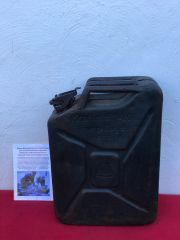 German Fuel can the famous Jerry can which has all maker stamps and markings and is dated 1940 recovered from the Demyansk Pocket in Russia 1941-1942 battlefield
