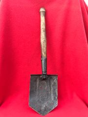 Complete nice condition Russian soldiers shovel,maker marked found in the Kurland Pocket the battlefield of 1944-1945 in Latvia