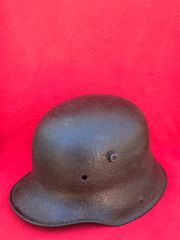 German M16 helmet very nice condition relic,well cleaned recovered on the battlefield at Passchendaele from the 1917 battle part of the third battle of Ypres