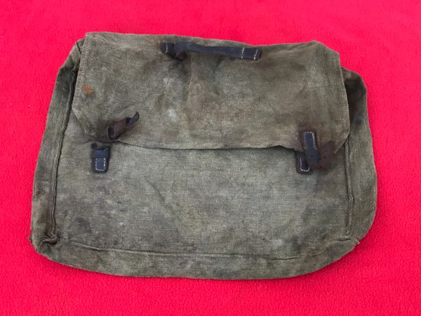 German soldiers mail bag,complete nice condition relic found many years ago in the Calais area from battle of France May-June 1940 or on the Atlantic wall defence