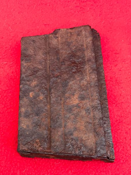 Czech ZB V2.26 machine gun magazine,relic condition no internals used by the Wehrmacht issued to Panzer Lehr division recovered from near Rochefort which was a village attacked by the Panzer Lehr division on the 23rd December 1944,battle of the bulge