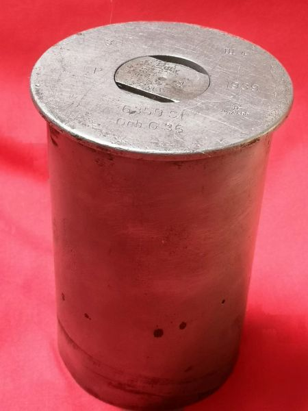 Very rare steel shell case for 7.5 cm Gebirgsgeschütz 36 mountain gun,fantastic condition dated 1939,waffen stamped found on a local fair in Ancona on the Gothic Line in Italy 1944 campaign