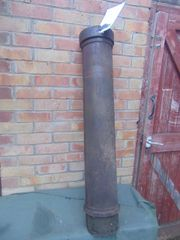 Shell carry case 155mm for US long tom artillery gun dated 1944 found at Bastonge the Bulge 1944