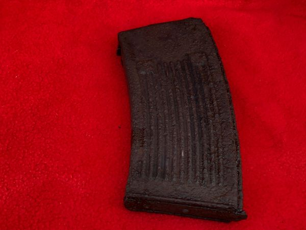 German MG13 machine gun magazine,nice condition relic near perfect inside recovered from around Wiltz on the Belgium-Luxembourg border in the Ardennes Forest battle of the bulge 1944-1945