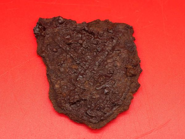 German Demyansk Shield relic condition and burnt awarded to soldier of Panzer Grenadier Division Kurmark recovered in Carzig south of the Seelow heights the 16-19 April 1945 battlefield