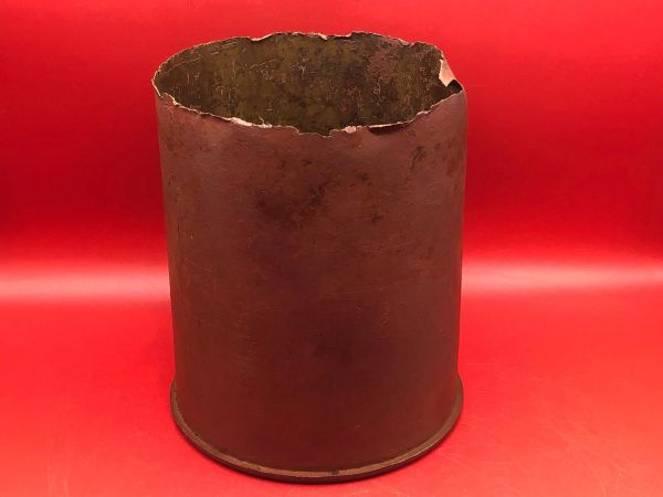 Russian 107mm brass shell case for the M A10/30 field gun in nice relic condition relic recovered in Sevastopol the battlefield of the Crimea 1941-1942 in Russia