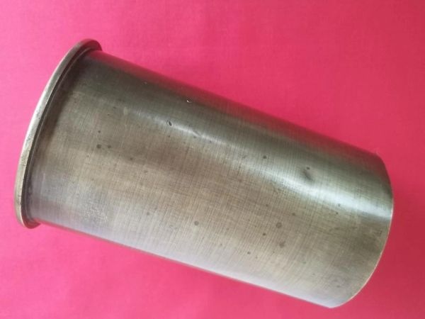 Czech made 10cm brass shell case captured and re used by the Germans with nice clear markings dated 1939 used on the Atlantic Wall in Norway