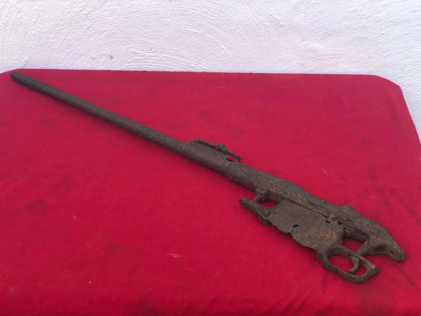 Russian mosin nagant rifle nice solid relic near complete used by soldier of the 3rd Shock Army recovered near district of Pankow in North Berlin captured by them on 23rd April 1945 during the Battle for the city