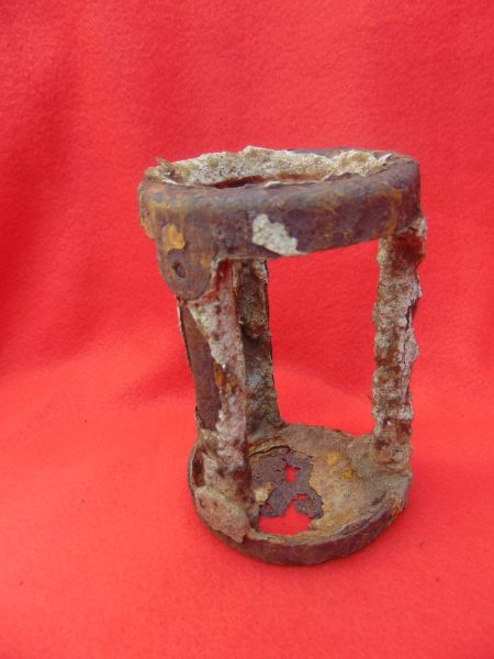 German pak40 anti-tank gun ammunition spacer recovered in 2016 from a Lake in Normandy
