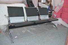 Waiting Bench (Iron, Cushion 3-Seater)