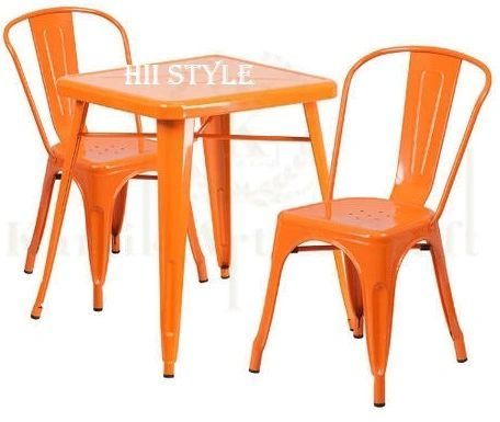 Cafe Chair & Table Tolix 235