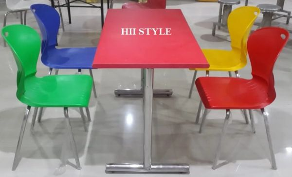 CafeTeria Table & Chair Set 1443
