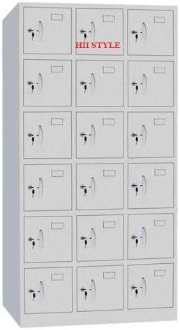 Staff Locker 18 Section