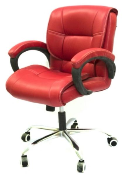 Office Chair Revolving Chairs Leather Staff 452