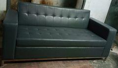 Office Sofa 5689 Grey (3 - Seater)