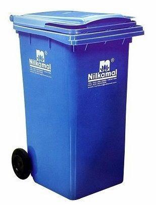Nilkamal Dustbin 120 Litre BLUE WB-120