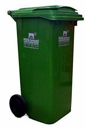 Nilkamal Dustbin 120 Litre GREEN WB-120