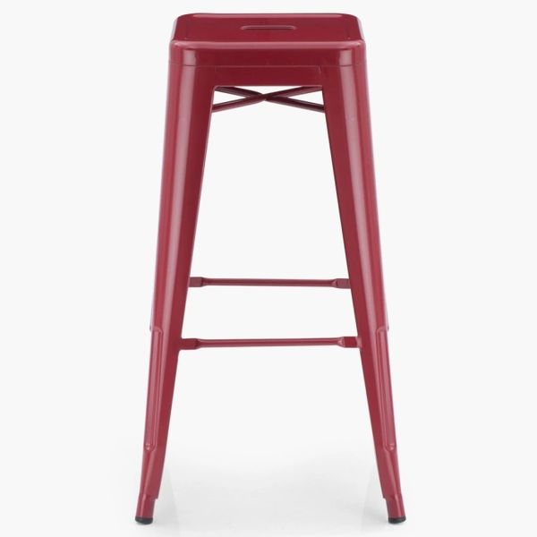 Metal Tolix Long Stool