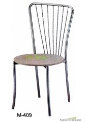 Cafe Chair Stainless Steel 409