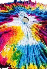 RAINBOW TYE DYED Tribal Bellydance ATS®Tribal Gypsy Rainbow Skirt