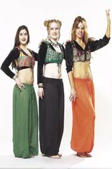 PANTALOONS COTTON ATS®TRIBAL BELLYDANCE GYPSY TRIBAL HAREM PANTALOONS