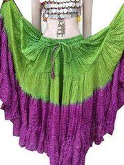 LUREX Tribal Bellydance ATS®Purple Gypsy LUREX Skirt