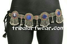BELT VINTAGE TRIBAL KUCHI LAPIS GYPSY ATS BELT