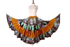 LAYER #1 ATS®TRIBAL BELLYDANCE FABULOUS LAYER GYPSY SKIRT