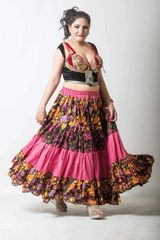 LAYER ATS®TRIBAL BELLYDANCE FABULOUS LAYER GYPSY SKIRT